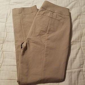 Loft petites khaki pants